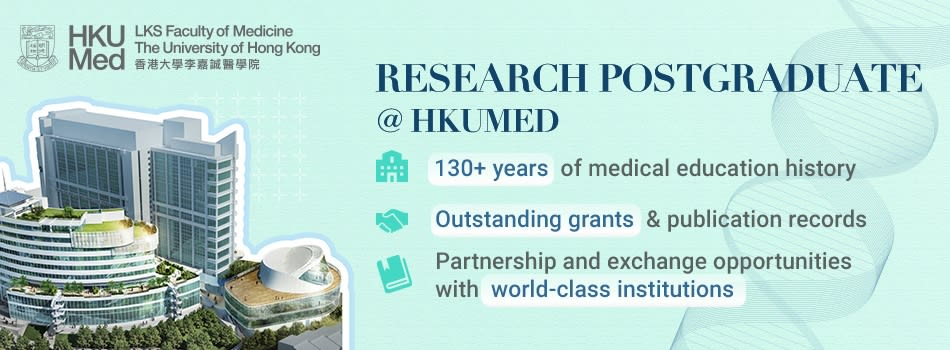 Biomedical Research @HKU LKS Faculty of Medicine