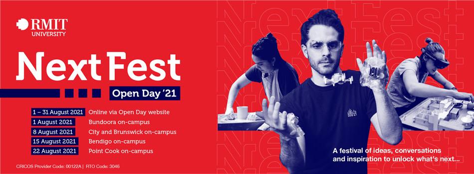 RMIT University Open Days 2021  Open Day