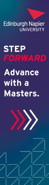 Edinburgh Napier University Featured Masters Courses