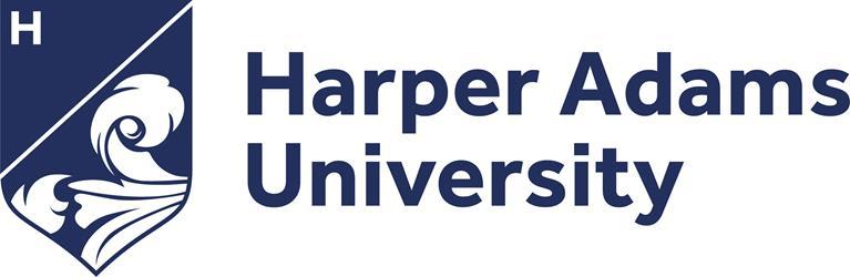 Postgraduate study at Harper Adams Logo