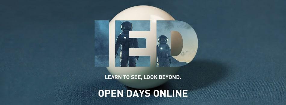Istituto Europeo di Design: ONLINE OPEN DAYS