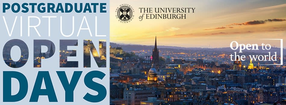 Join us at our Postgraduate Virtual Open Days, 9-11 November 2021